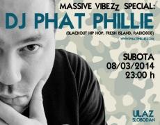 8. SLUŠAONICA: Massive Vibezz Special – DJ Phat Philli