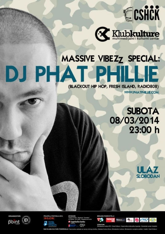CSf 2014 – DJ Phat Phillie – A3 PRINT_