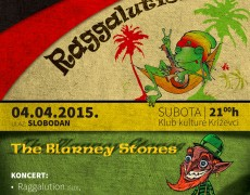 14. KONCERT: LITTLE CULTURE REVOLUTION: Raggalution (SLO), The Blarney Stones (HRV)