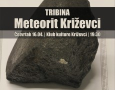 19. TRIBINA: Meteorit Križevci (Ratko Matić)