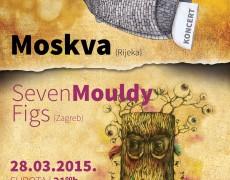 10. KONCERT: Moskva (Rijeka), Seven Mouldy Figs (Zagreb)