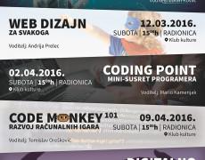 3. RADIONICA: Croduino – Programiranje elektroničkih sklopova